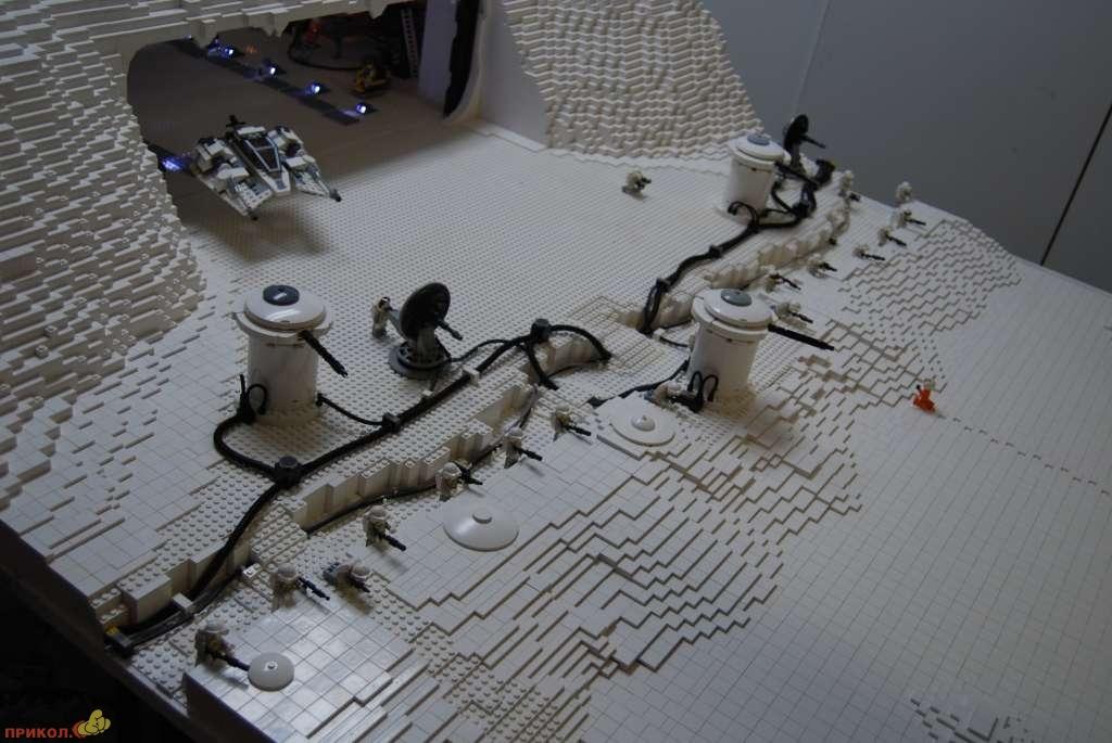 Самодельные базы из лего